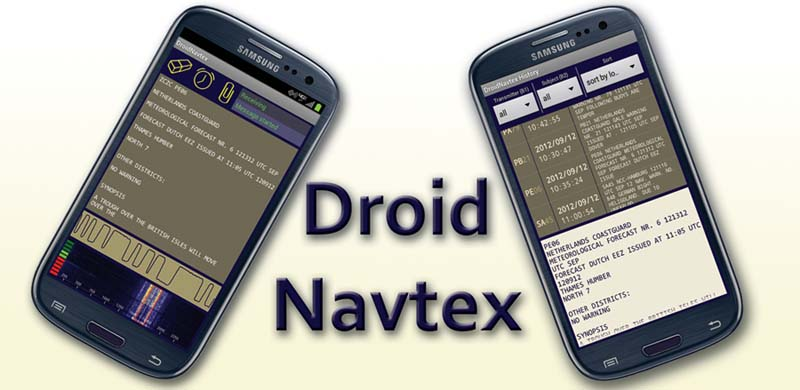 Droid Navtex - Navtex app for Android