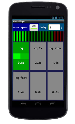 Ham Radio Voice Keyer for Android